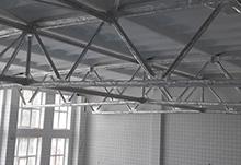 Огнезащитная обработка металлических конструкций конструктивным материалом